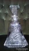 Bohémia kristály,  whiskys üveg