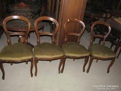 Barokk székek 4db