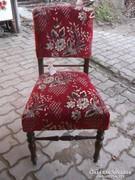 Ónémet háttámlás székek