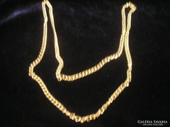 Gold Filled Arany Bev. ,nyaklánc 76cm