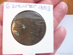 6 Kreutzer 1800 S