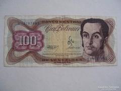 Venezuela 100 Bolivar 1992