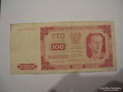 Lenygelország 100 Zloty 1947