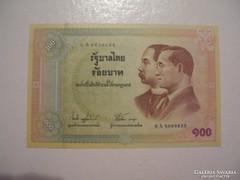 Thailand 100 Bath 2002 UNC.