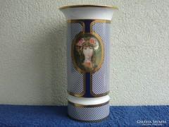 Szász Endre 30 cm kobaltkék Flóra nevű váza eladó