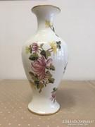 Hollóházi nagyméretű virág váza