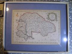 Magyarország Erdély térkép 1759
