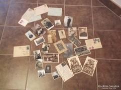 Katonai fotók plusz tábori lapok