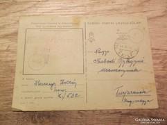 Katonai tábori levelezőlap kicsit másként