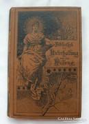 Német 1891-es gót betűs történetek novellák
