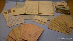 I.világháborús K.u.K. tábori levelezés 200db