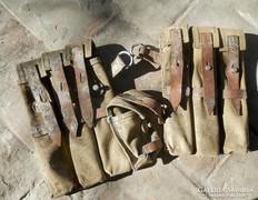 Régi lőszer tartó , tártartó táska