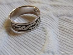 Szép régi ezüst gyűrű