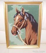 Ló, lovas gobelin kép