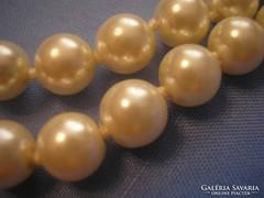 U1 2 fénytörésű lüszteres csodás gyöngysor 75 Cm
