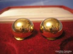 Gold filled,gömb klipsz