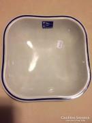 Zsolnay porcelán kínáló tál, MAHART, öttorony jelzéssel (44)