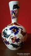Gyönyörű antik Fischer váza 19cm magas