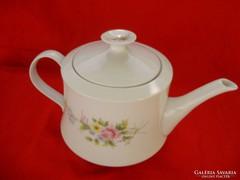 Alföldi porcelán virágos teáskanna 1liter
