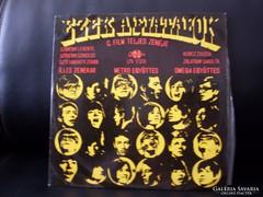 Bakelit LP nagylemezek
