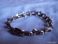 Csodaszépantik ezüst Női karkötő hibátlan,jelzett