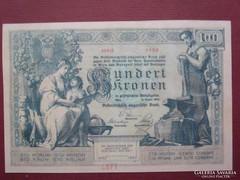 100 korona 1902 - MÁSOLAT