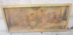 Sinkovits M.Festmény 1880-as évekből  szentkép