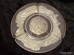 Ezüst emlékérem a Magyar Államiság 1000. évfordulójára