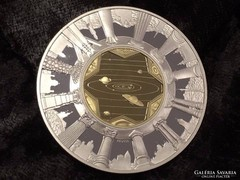 Aranyozott ezüst emlékérem: Európa 2000 éve