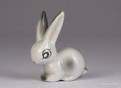 0K789 Hollóházi porcelán nyúl nyuszi
