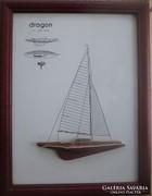 Vitorlás hajó kép