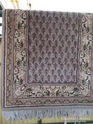 Szőnyeg, indiai gyapjú, kézicsomózású  140x70 cm