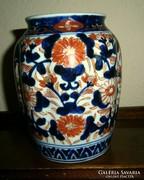 Antik imari kerámia váza