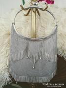 Alpakka ezüstözött táska