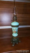 Antik bécsi monumentális petróleum lámpa