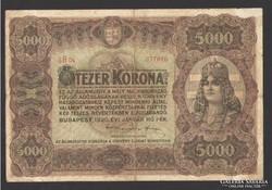 5000 korona 1920.  RITKA!!!