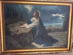Pámmer János: Jézus a Koponyák hegyén. 1930 körül.