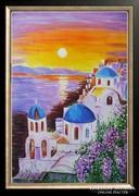 Hepp Natália: Santorini