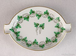 0K785 Petrezselyem mintás Herendi porcelán hamutál