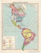 Amerika néprajzi térkép (e) 1911, eredeti