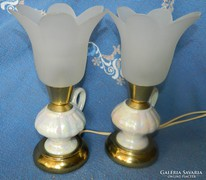 Gyönyörű asztali lámpa pár