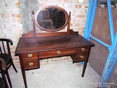 Antik szecessziós fésülködő szekrény