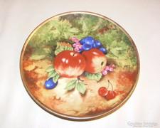 Bavaria gyümölcsmintás tányér