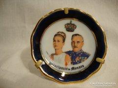 Limoges porcelán , miniatűr tányér