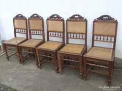 Ónémet szék 5 darab