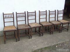 Ónémet szék hat darab