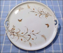 Fischer J. pillangós tálca , asztalközép