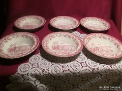 6 db Miotts Country süteményes tányér 19 cm 0122