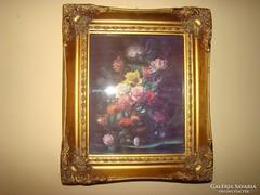 Antik jellegű Barokk porcelán kép
