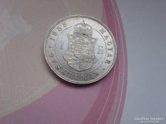 1888 Ezüst 1 Forint-Ferenc József KB keresett,Ritka gyönyörű